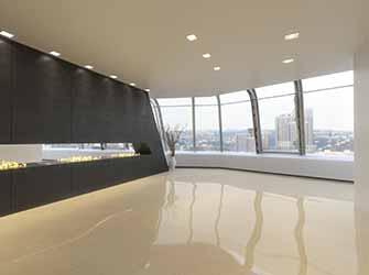 commercial resin floor
