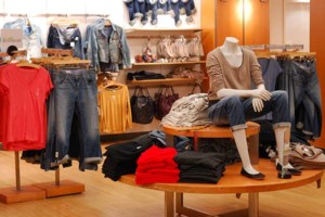 wood flooring modern retail