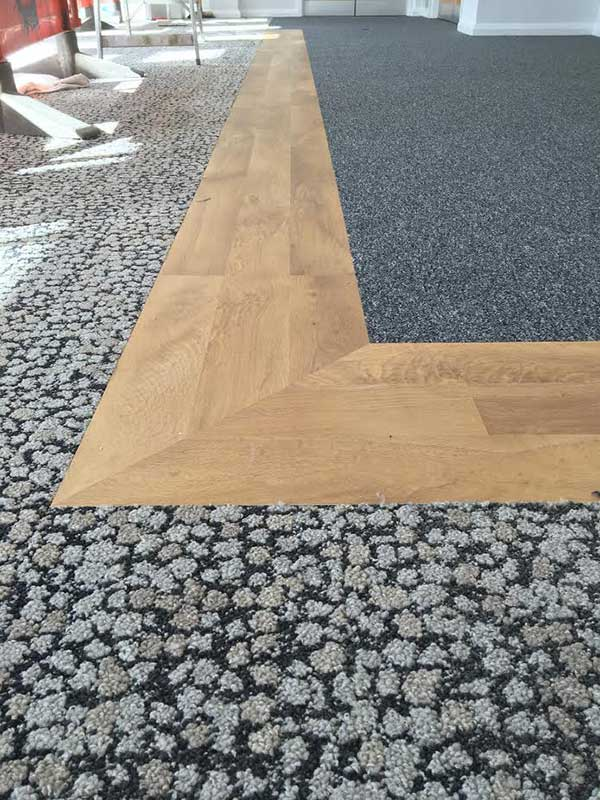 High Traffic Flooring Durable Perfect For Business