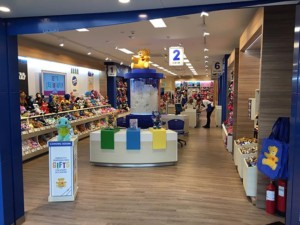commercial flooring installed for build a bear brighton